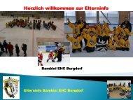 Eltern vom 19.03.2013 Information - EHC Burgdorf
