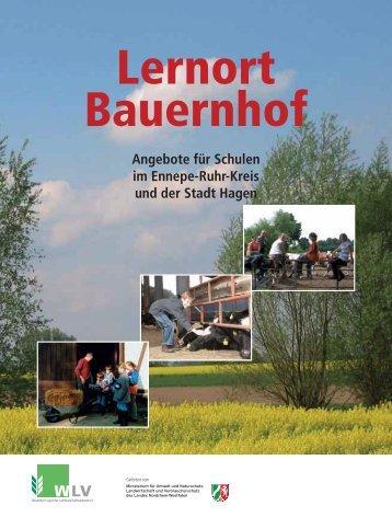 Angebote für Schulen im Ennepe-Ruhr-Kreis ... - Lernort Bauernhof