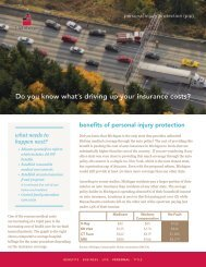 Do you know what's driving up your insurance ... - Lighthouse Group