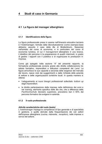 4 Studi di caso in Germania - Indire