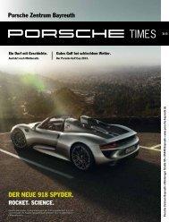 Ausgabe 3/13 - Porsche Zentrum Bayreuth