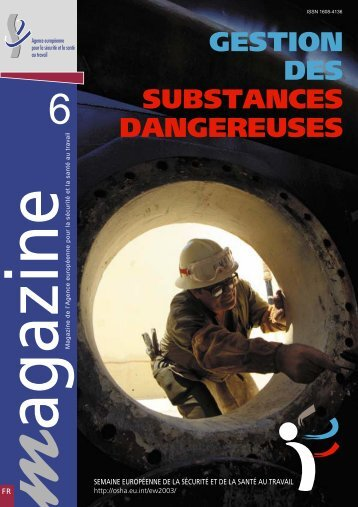 gestion des substances dangereuses - European Agency for Safety ...