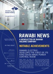 Notable achievemeNts - Rawabi Holding