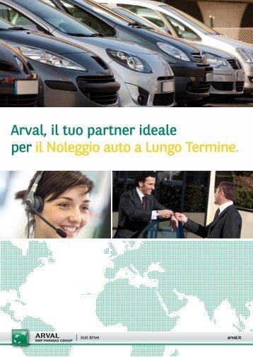Arval, il tuo partner ideale per il Noleggio auto a Lungo Termine.