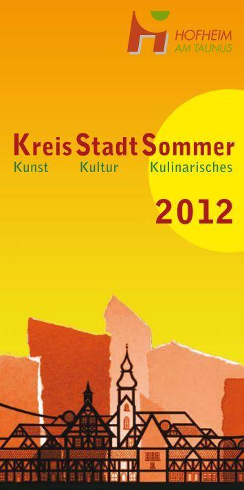 KreisStadtSommer - Stadt Hofheim am Taunus