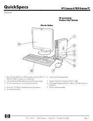 HP Compaq Elite 8300 Ultra-slim PC - Icecat biz