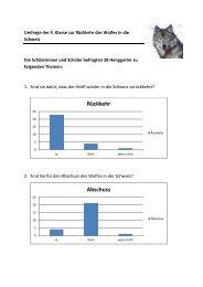 Wolfumfrage - Primarschule Henggart