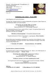 Einladung zum Ajiaco – Essen 2009 - Deutsch-Kolumbianischer ...