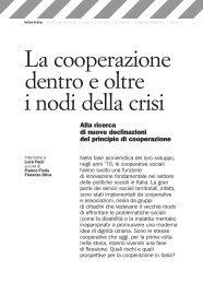 La cooperazione dentro e oltre i nodi della crisi Alla ricerca di nuove ...