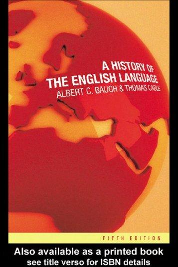 1380984377.3491A History of English Language