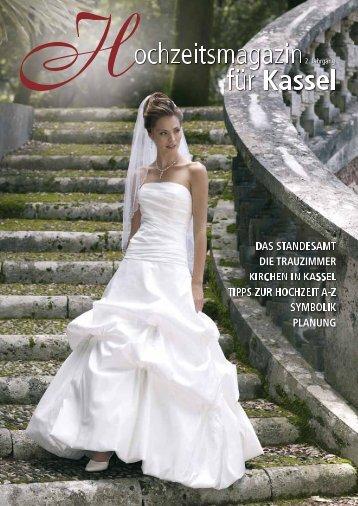 Schöner Heiraten Kassel - Hochzeitsmagazin Kassel