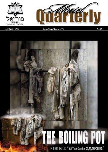 The Boiling Pot - Moriel Ministries