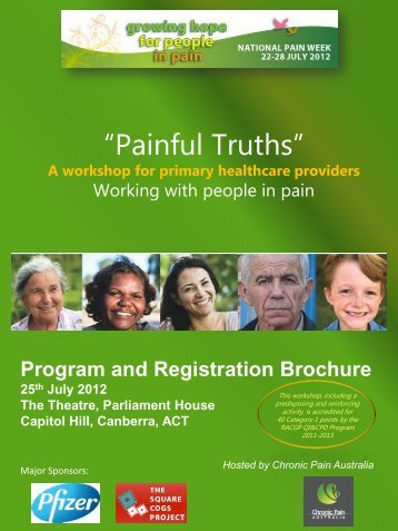 """Painful Truths"" - Faculty of pain medicine - Australian and New ..."