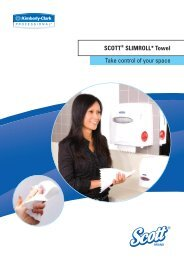 Brochure SCOTT SlimRoll Towel - KIMBERLY-CLARK ...