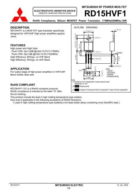 RD15HVF1 - DL2JWL