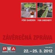 Závěrečná zpráva ročníku 2012 - For Garden