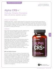 Alpha CRS - dōTERRA - Essential Oils