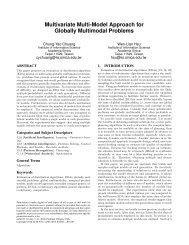 Multivariate Multi-Model Approach for Globally ... - Academia Sinica