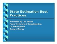 State Estimation Best Practices