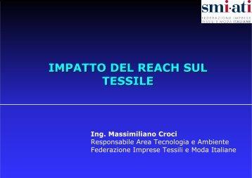 IMPATTO DEL REACH SUL TESSILE