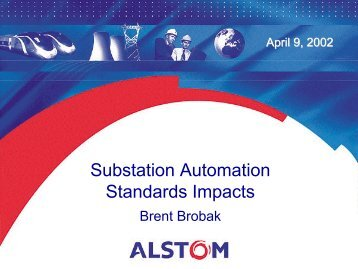 Substation Automation Standards_Brobak.pdf