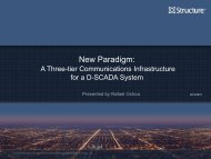 New Paradigm: Communications Infrastructure - EMS Users ...