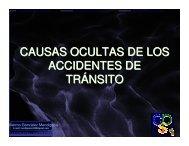 Causas ocultas de los accidentes de tránsito - Consejo Colombiano ...