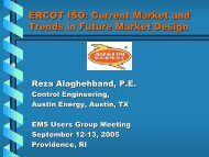 Current Market and Trends in Future Market Design - EMS Users ...