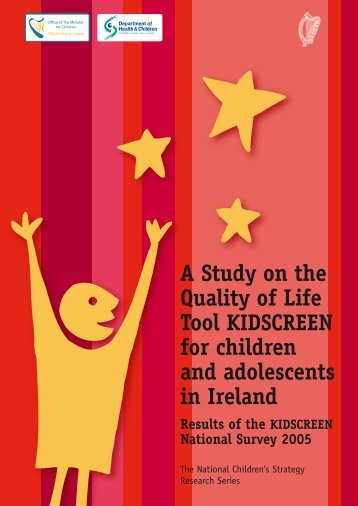 A Study on the Quality of Life for children and adolescents in Ireland