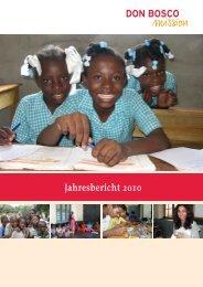 110477-Jahresbericht 2010.indd - Don Bosco Mission