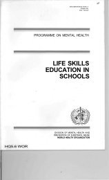 Life skills education for children and adolescents in schools ... - Source