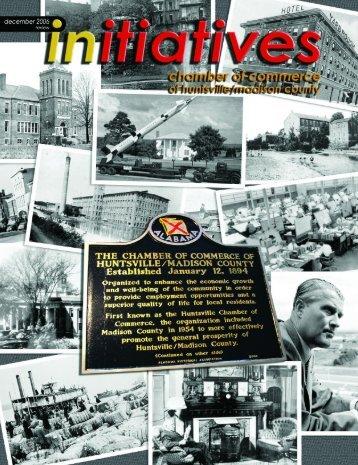 December 2006 - Huntsville/Madison County Chamber of Commerce