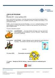 JOB KLUB PROGRAM - AK Dagtilbud