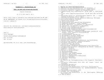 Schweizer / SS 2010 - 1 - 18. Feb. 2011 Pragmatik I - Beschreibung ...