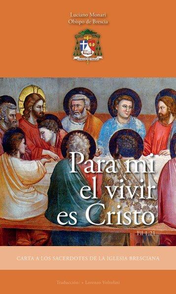 Para mi el vivir es Cristo - Diocesi di Brescia