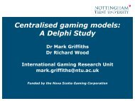 Centralised gaming models: A Delphi Study - European Association ...