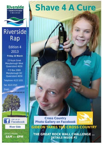 Shave 4 A Cure - Riverside Christian College