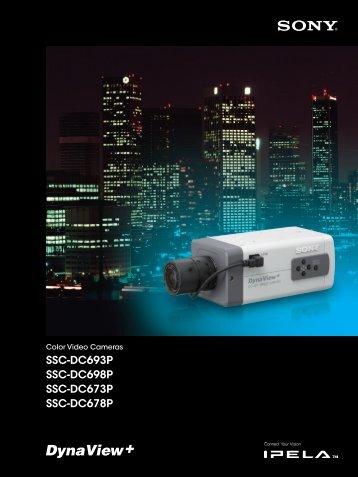 SSC-DC693P SSC-DC698P SSC-DC673P SSC ... - Sony Asia Pacific