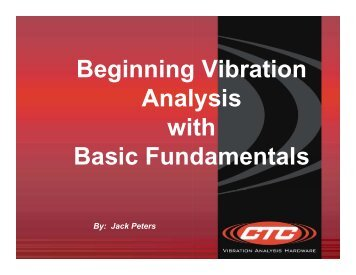 Beginning Vibration Analysis with Basic Fundamentals
