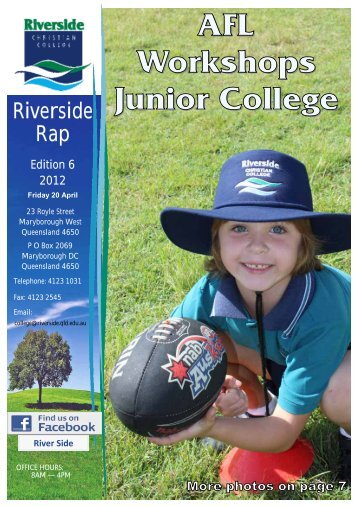college notices - Riverside Christian College
