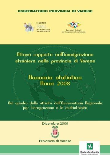 Rapporto 2008 - OsserVa