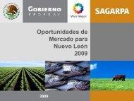 Nuevo León - Sagarpa