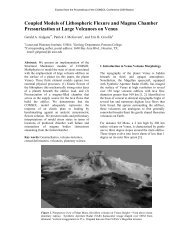 Coupled Models of Lithospheric Flexure and ... - COMSOL.com