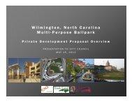 Wilmington, North Carolina Multi Purpose Ballpark - City of Wilmington