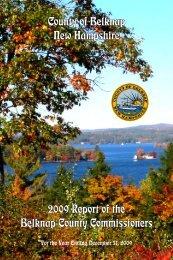 2009 Annual Report - Belknap County