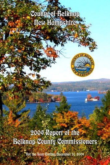 2009 Annual Report - Belknap County