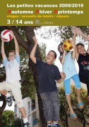 3 / 14 ans - Istres