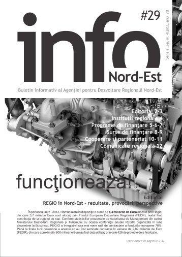 INFO Nord-Est, nr. 29 / 2011 - Agentia pentru Dezvoltare Regionala ...