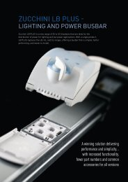 Zucchini LB PLUS lighting and power busbar - Legrand