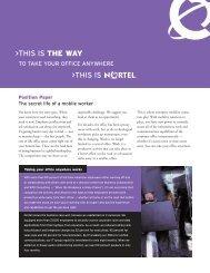 The secret life of a mobile worker - Ash Telecom